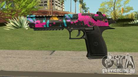 Neon Destroyer Deagle для GTA San Andreas