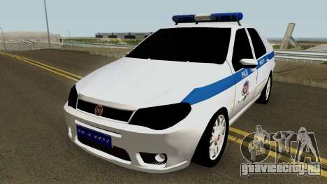 Fiat Albea Turkish Police UnBug для GTA San Andreas