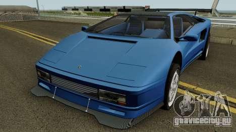 Lamborghini Diablo VT 6.0 (Infernus Style) 1990 для GTA San Andreas