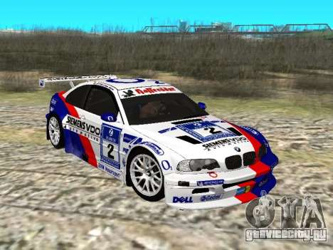 BMW M3 GTR Sport для GTA San Andreas