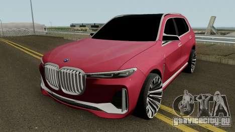 BMW X7 2017 HQ для GTA San Andreas