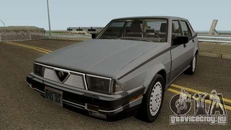 Alfa Romeo Milano 3.0 V6 1987 (US-Spec) для GTA San Andreas