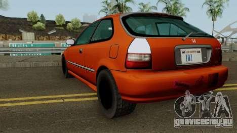 Honda Civic EK9 Low Poly для GTA San Andreas