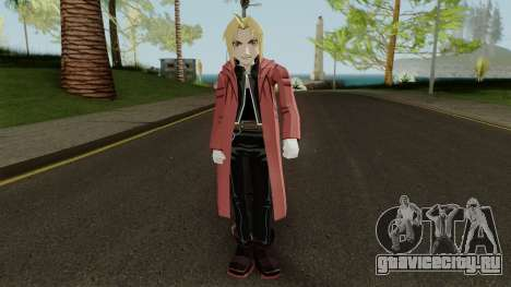 Edward Elric для GTA San Andreas второй скриншот