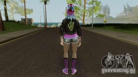 Fortnite Female Garage Band для GTA San Andreas третий скриншот