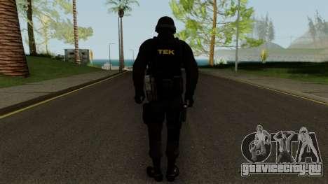 TEK Skin 2 для GTA San Andreas