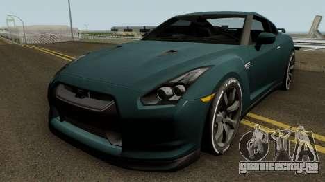 Nissan GT-R Premium (R35) 2011 для GTA San Andreas
