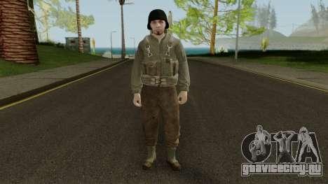 Skin Random 103 (Outfit WW2) для GTA San Andreas второй скриншот