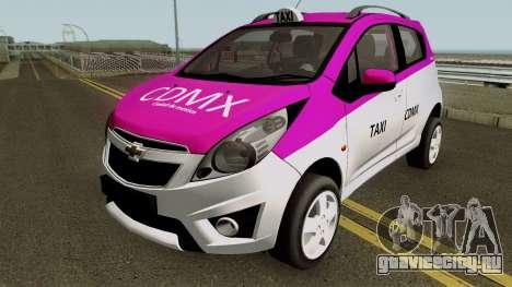 Chevrolet Spark TAXI CDMX для GTA San Andreas
