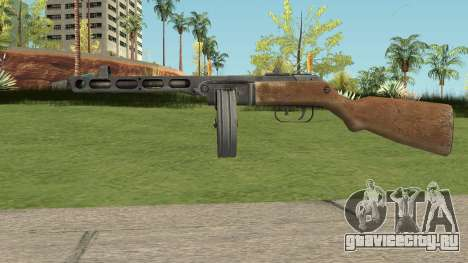 PPSH-41 Bad Company 2 Vietnam для GTA San Andreas