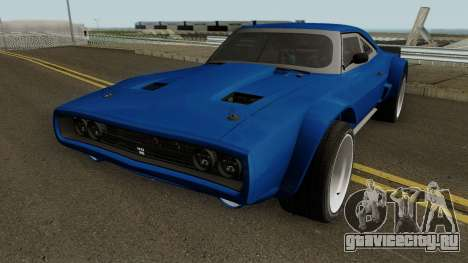 Dodge Charger RT 1968 HQ для GTA San Andreas