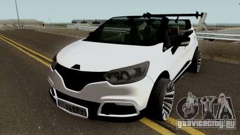 Renault CAPTUR SPORT для GTA San Andreas