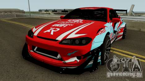 Nissan Silvia S15 Rocket Bunny BSI Drift Team для GTA San Andreas