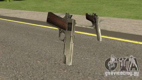 New Pistols HQ для GTA San Andreas