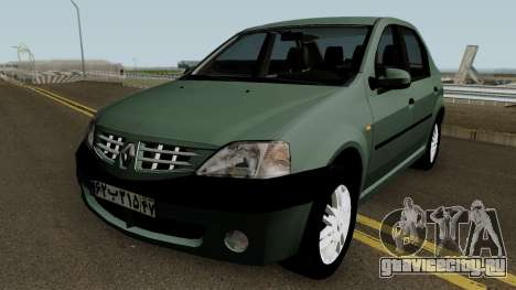 Renault Tondar 90 (Iranian) для GTA San Andreas