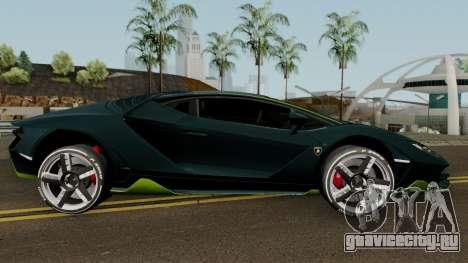 Lamborghini Centenario LP770-4 2017 для GTA San Andreas