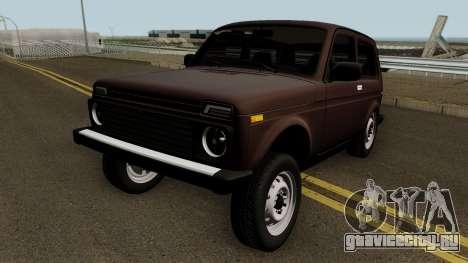 VAZ 2121 Niva Azelow для GTA San Andreas
