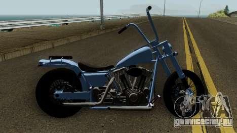 Western Motorcycle Daemon GTA V для GTA San Andreas