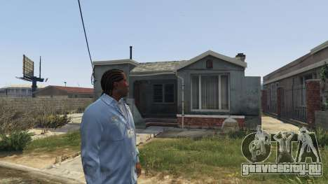Cj Pensioner (Monday) 1.0 для GTA 5