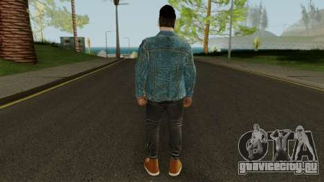 Guru Randhawa для GTA San Andreas третий скриншот
