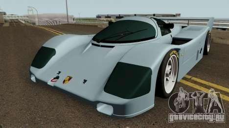 Porsche 962c Short Tail для GTA San Andreas