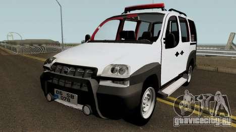 Fiat Doblo 2005 HQ для GTA San Andreas