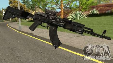 New AK47 HQ для GTA San Andreas