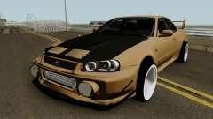 Deuces Nissan Skyline Evolution GT-R 34 для GTA San Andreas