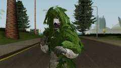 Skin Random 104 (Outfit Army With Ghiliesuit) для GTA San Andreas