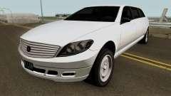Mercedes Benz E-Class W212 Limousine 2012 v1.2 для GTA San Andreas