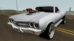 Chevrolet El Camino SS 1970 HQ для GTA San Andreas