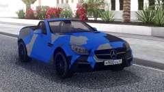 Mercedes-Benz SLK 55 AMG Cabriolet для GTA San Andreas
