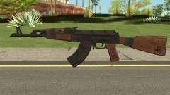 Battle Carnival AKM SKIN 1 для GTA San Andreas