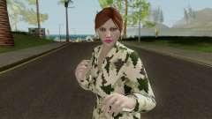 GTAO Xmas Female Skin для GTA San Andreas