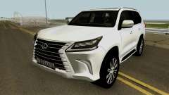Lexus LX 570 HQ для GTA San Andreas