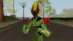 Ben 10 Ultimate Swamp Fire Skin для GTA San Andreas