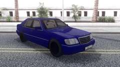Mercedes-Benz W140 AG для GTA San Andreas