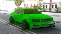 Nissan Cedric WideBody Green для GTA San Andreas