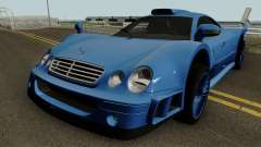 Mercedes Benz CLK GTR (C208) 1998 для GTA San Andreas
