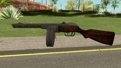 COD-WW2 - PPSH-41 для GTA San Andreas