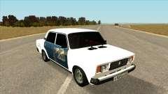 ВАЗ 2107 Бродяга Белый для GTA San Andreas