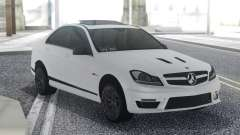 Mercedes-Benz C63 AMG Sedan для GTA San Andreas