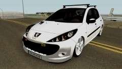 Peugeot 206 2012 для GTA San Andreas