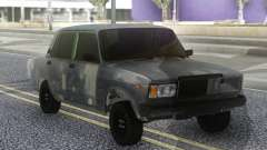 ВАЗ 2107 Серый Бродяга для GTA San Andreas