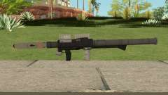 New Rocket Launcher HQ для GTA San Andreas