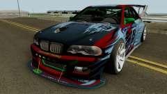 BMW M3 E46 Beast для GTA San Andreas