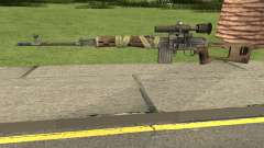 Bad Company 2 Vietnam NDM Sniper для GTA San Andreas