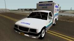 Chevrolet Luv Ambulancia Colombiana для GTA San Andreas