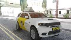 Dodge Durango SRT Yandex Taxi для GTA San Andreas
