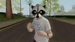 GTA Online Racoon Hipster для GTA San Andreas